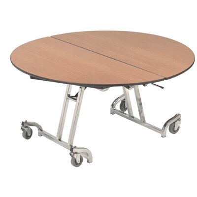 "Round Folding Table Size: 29"" H x 48"" W x 48"" D"