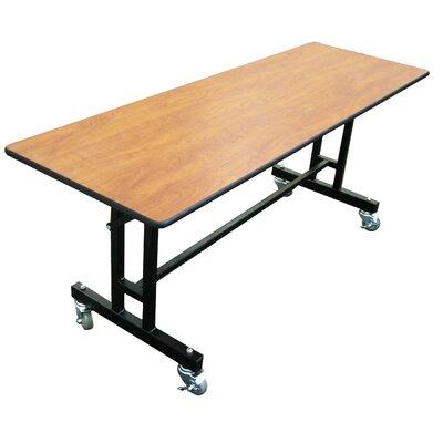 "Rectangular Folding Table Size: 29"" H x 96"" W x 30"" D"