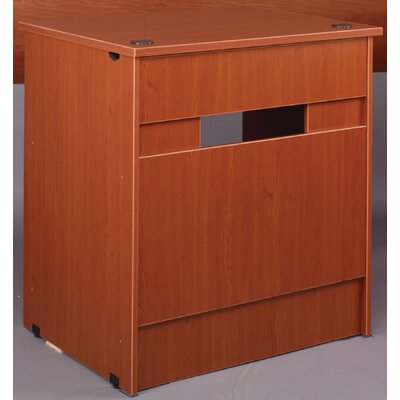 "Library 40"" H x 36"" W Desk Return Finish: Walnut"