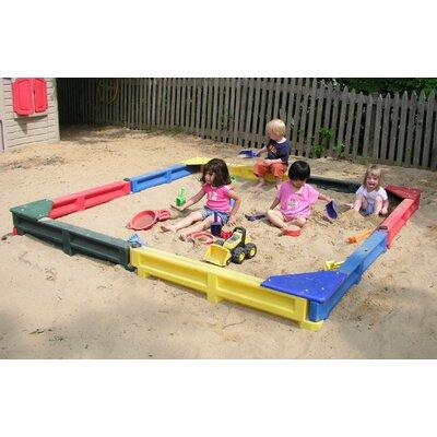 8 ft Square Sandbox