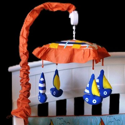 Baby Sailor Sailboat Musical Mobile
