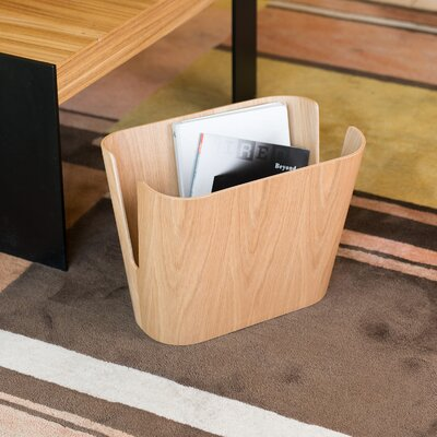 Kita Magazine Rack Color: Oak