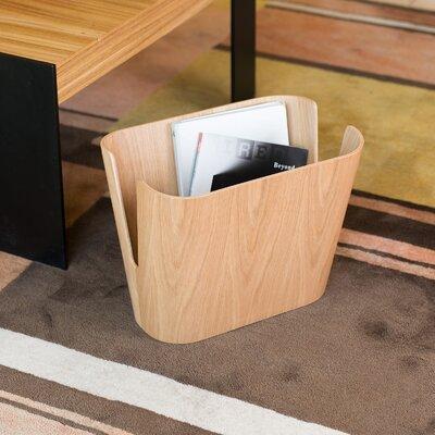 Kita Magazine Rack Color: Oak