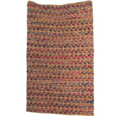 Ian Snow Hand-Woven Brown Area Rug