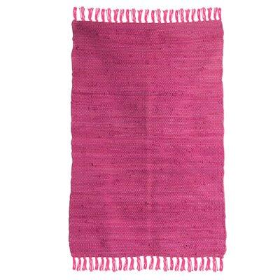 Ian Snow Hand-Woven Pink Area Rug