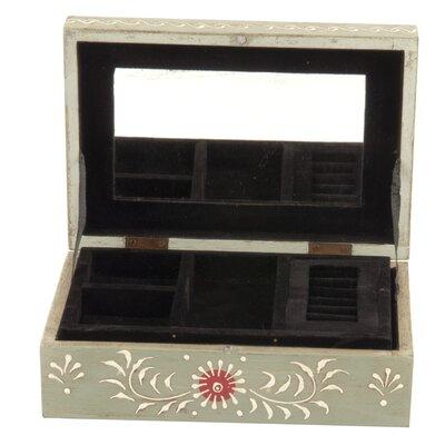Ian Snow Speckled Bird and Blossom Jewellery Box
