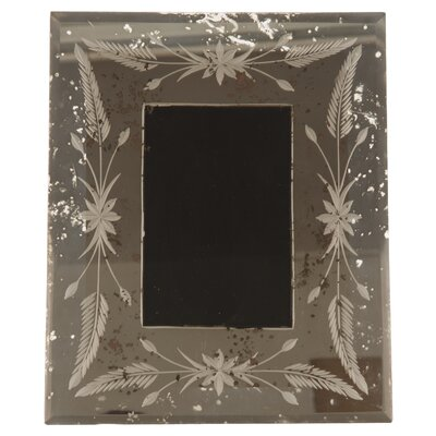 Ian Snow Etched Wheat Picture Frame