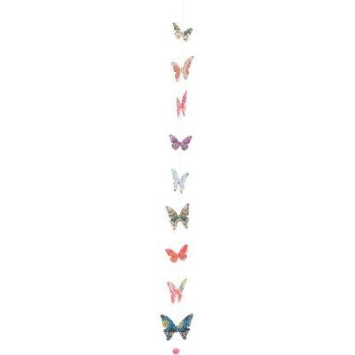 Ian Snow Decorative Folky Pattern Paper Butterfly String