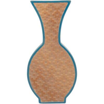 Ian Snow Earthenware Slice Vase