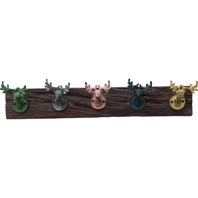 Alpen Home Stags Head Wall Mounted Coat Rack