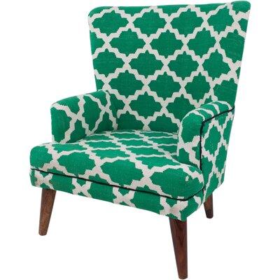 Ian Snow Cotton Woven Armchair