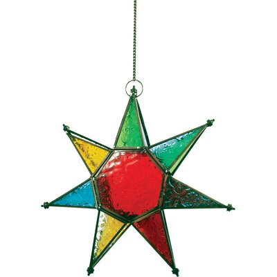 Ian Snow Star Glass Tealight Holder