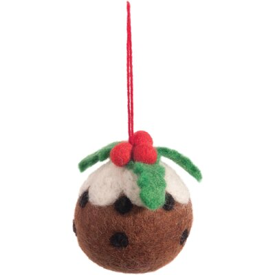 Ian Snow Christmas Pudding Figurine