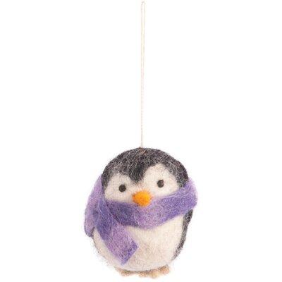 Ian Snow 4 Piece Decorative Hanging Penguin Set