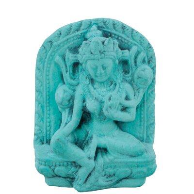 Ian Snow Turquoise Powder Tara Figurine