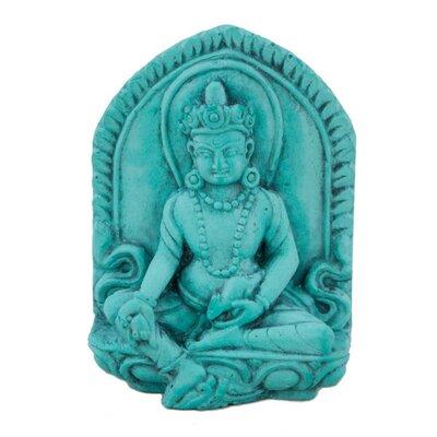 Ian Snow Turquoise Powder Lord Kuber Figurine