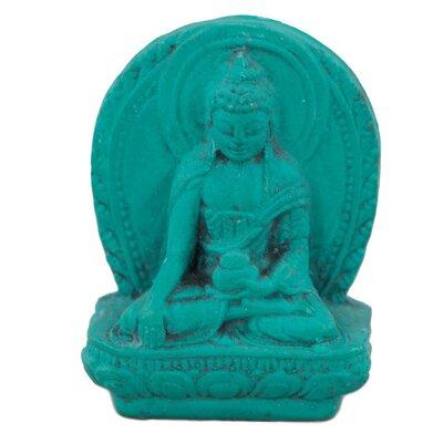 Ian Snow Turquoise Powder Medicine Buddha Figurine