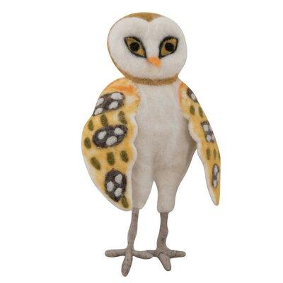 Ian Snow Decorative Oswald The Felt Owl