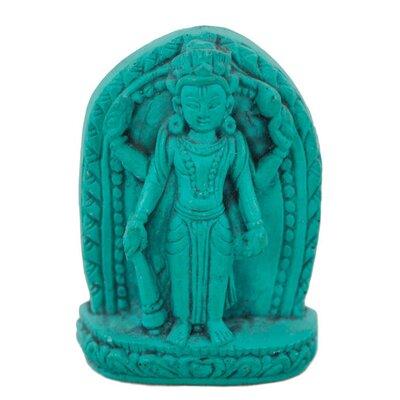 Ian Snow Turquoise Powder Lakshmi Figurine