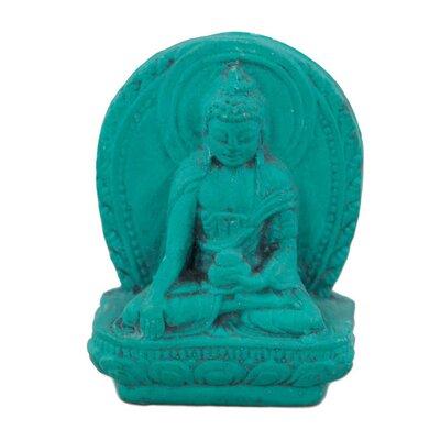 Ian Snow Turquoise Powder Shakyamuni Figurine