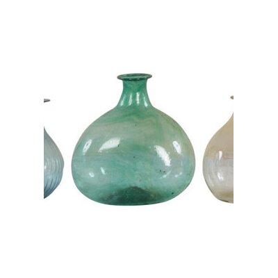 Ian Snow Recycled Glass Vase