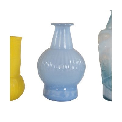 Ian Snow Cloudy Recycled Glass Vase