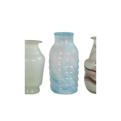 Ian Snow Swirl Recycled Glass Vase