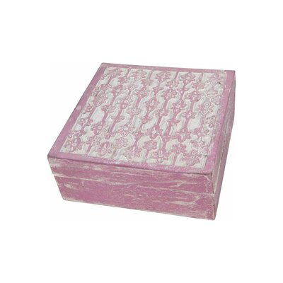 Ian Snow Foiled Carved Wooden Box