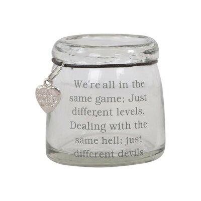 Ian Snow Devil Slogan Tealight Holder