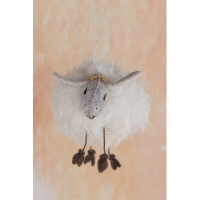 Ian Snow Fluffy Sheep Hanging Figurine
