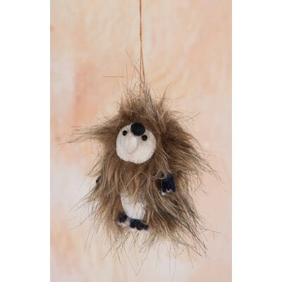 Ian Snow Fluffy Hedgehog Hanging Figurine
