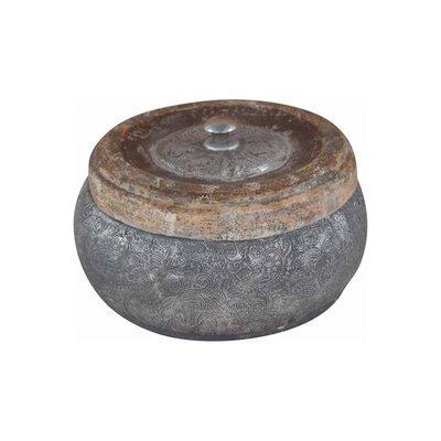 Ian Snow Embossed Eco-Mix Pot