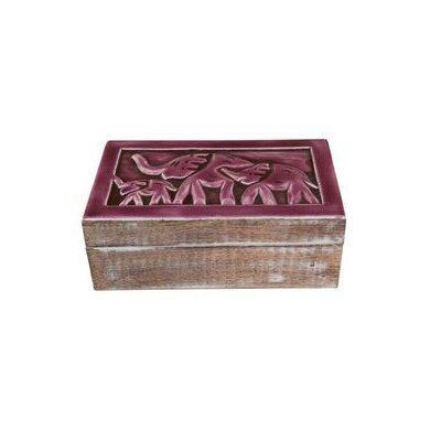 Ian Snow Wooden Carved Box