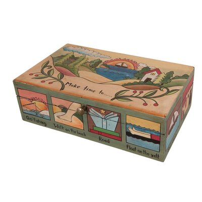 Ian Snow Make Time Wooden Box