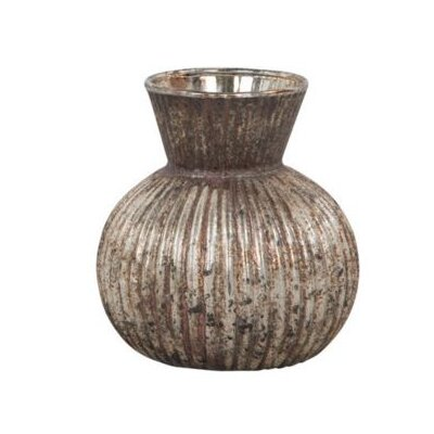 Ian Snow Stripe Cut Vase