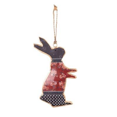 Ian Snow Decorative Metal Rabbit