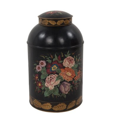Ian Snow Hand Painted Floral Box