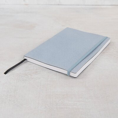 Ian Snow Soft Cover Binded Notebook with Elastic Closure