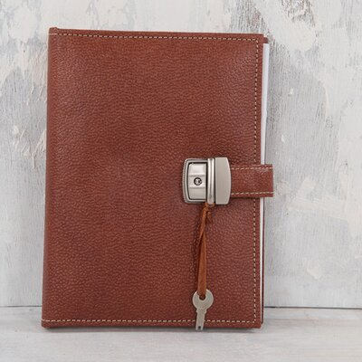 Ian Snow Hard Cover Spiral Notebook with Lock