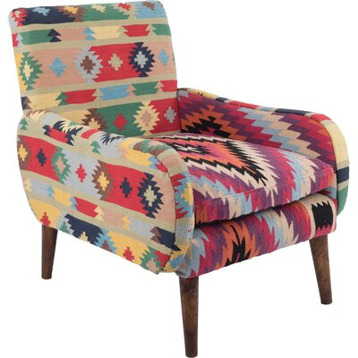 Ian Snow Cotton Armchair