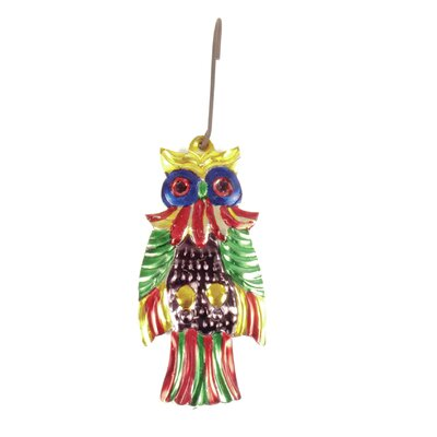 Ian Snow Decorative Tin Owl Wall Décor