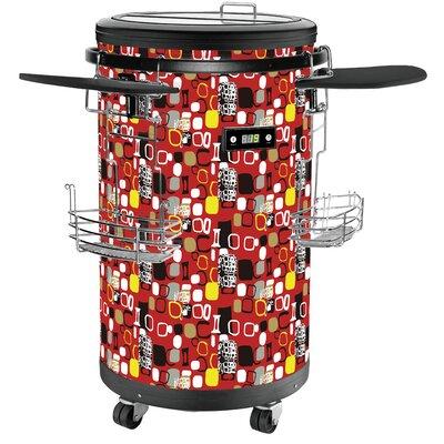 1.77 cu. ft. Beverage Center Color: Red