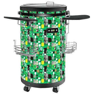 1.77 cu. ft. Beverage Center Color: Green
