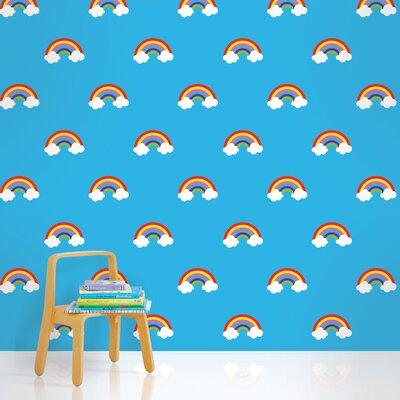 "WallCandy Arts 2.17' x 26"" Rainbows Wallpaper"