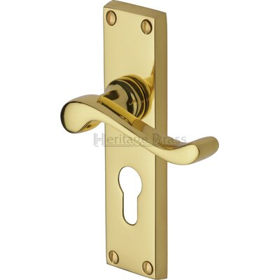 Heritage Brass Bedford Euro Profile Door Handle