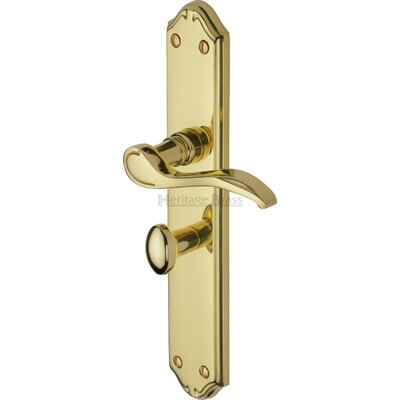 Heritage Brass Verona Bathroom Door Handle