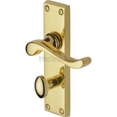 Heritage Brass Bedford Bathroom Door Handle