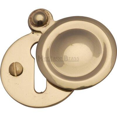 Heritage Brass Round Covered Escutcheon