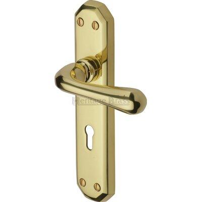 Heritage Brass Charlbury Lever Lock
