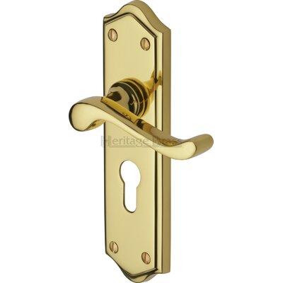 Heritage Brass Buckingham Euro Profile Door Handle